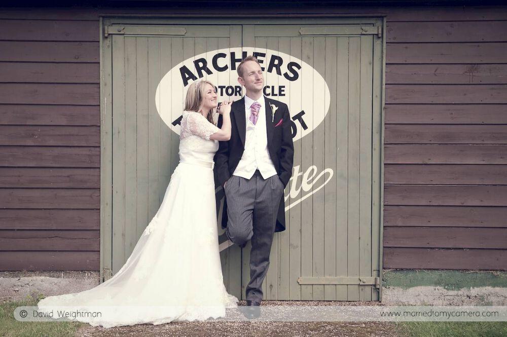 vintage wedding photography surrey
