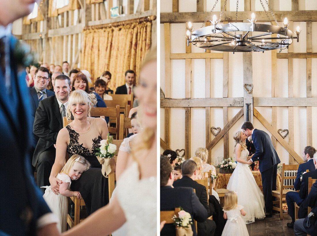 surrey wedding venue gate street barn