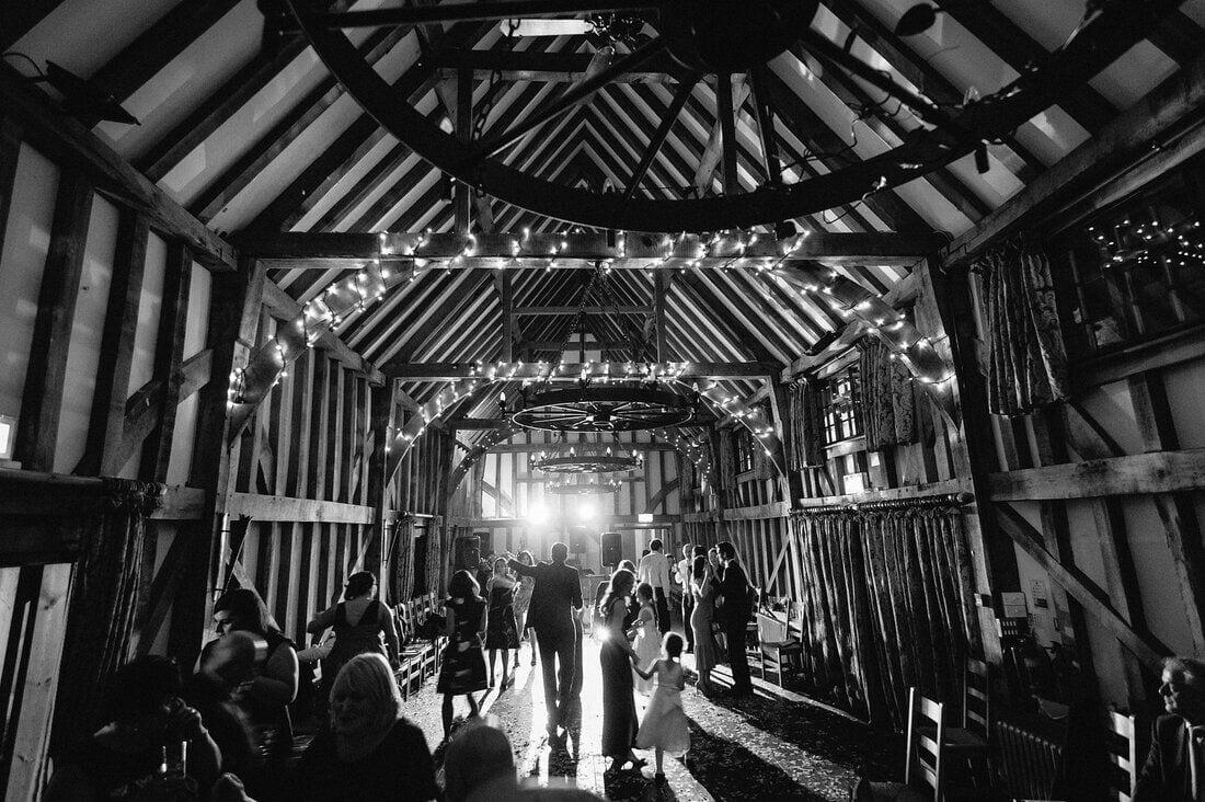 winter wedding surrey
