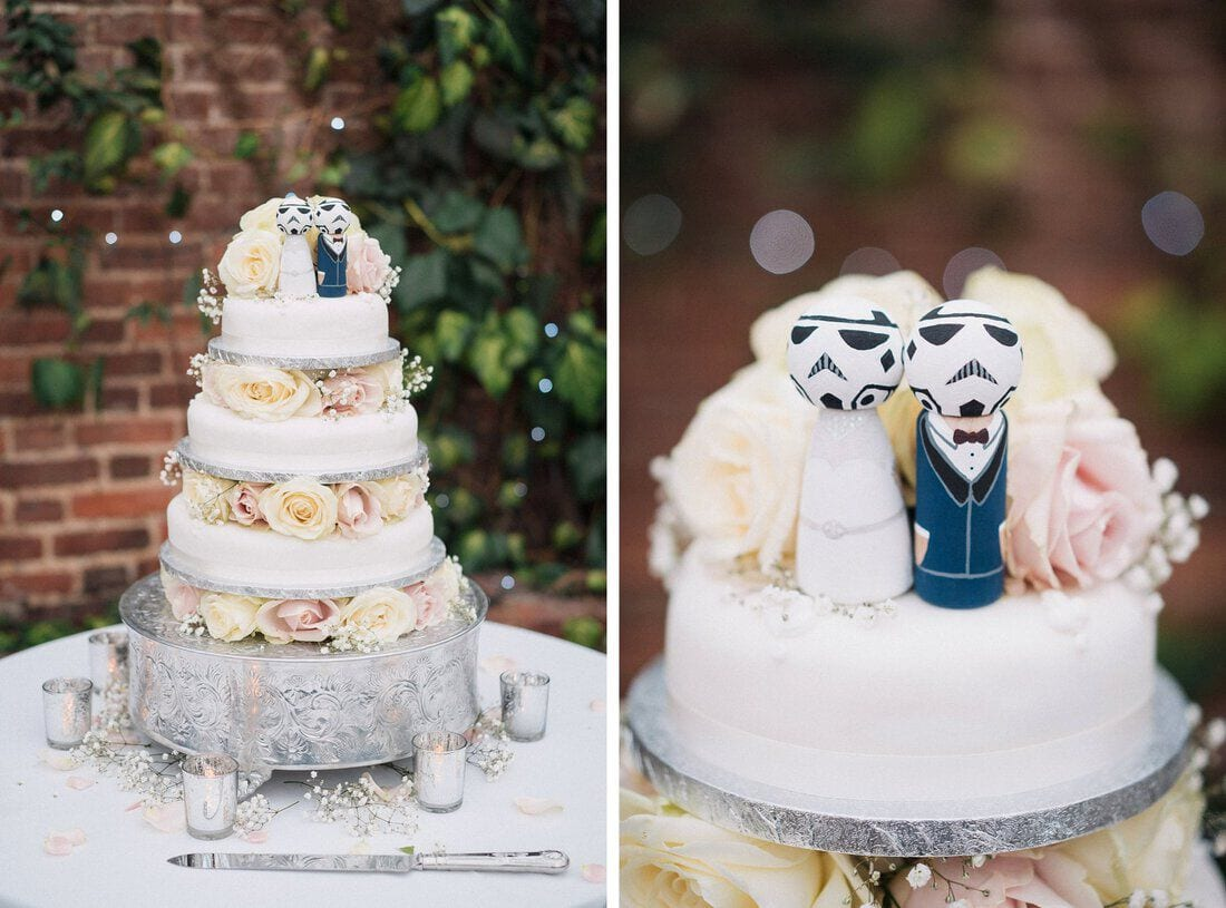 star wars themed wedding ideas