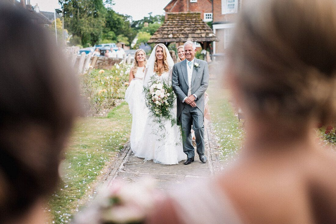 Wedding Photography St. Peter's Church Slinfold