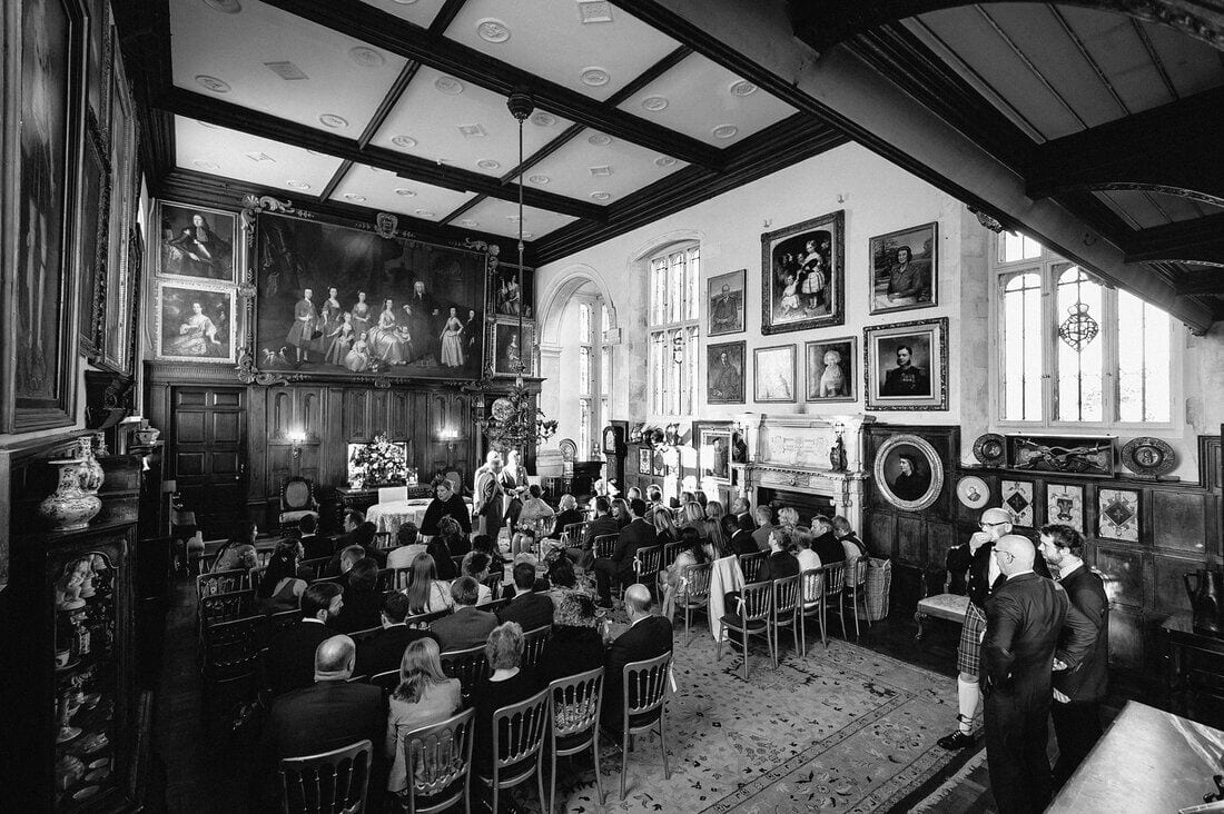 the great hall at Loseley Park