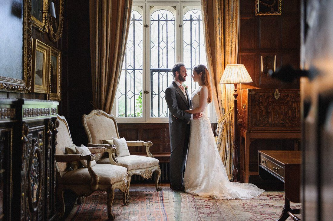 Wedding portrait at Loseley Park