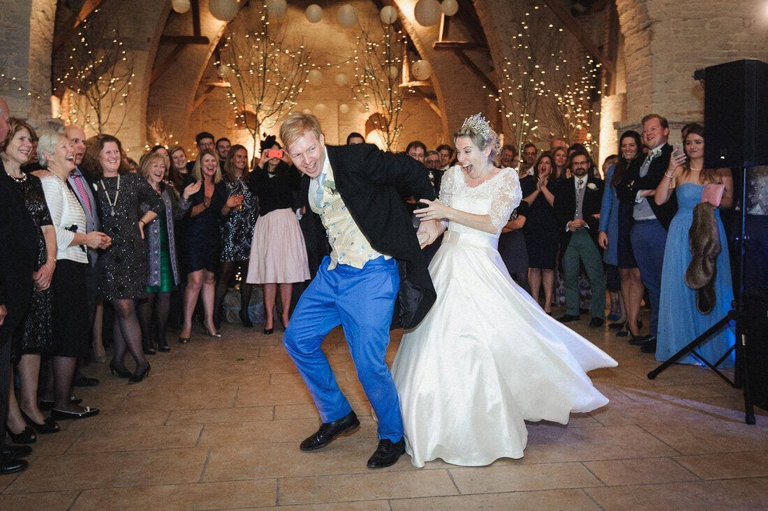 a crazy first dance