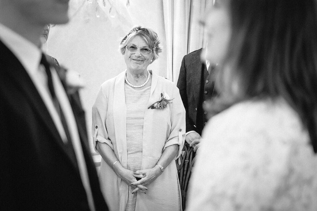 a proud mother of the groom