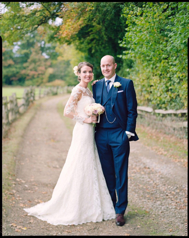 analogue wedding photography on film