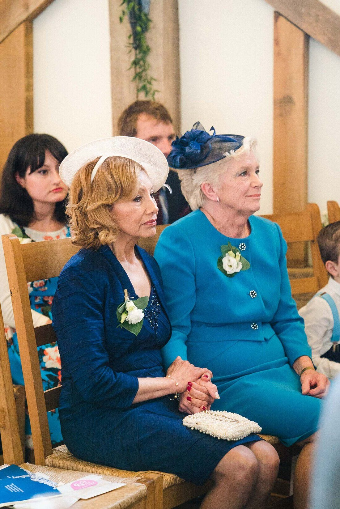 the mothers of the bride and groom together