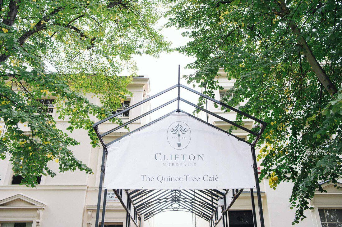 clifton nurseries entrance