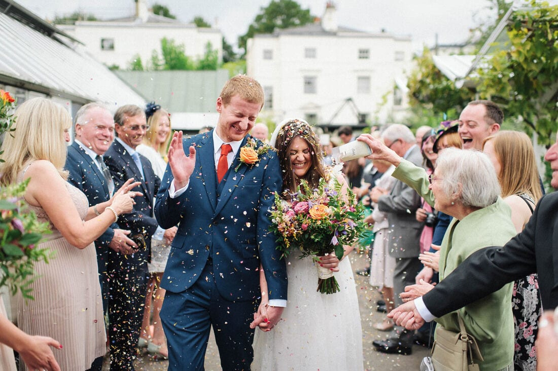 Clifton Nurseries Wedding Photography an Alternative London Wedding Venue