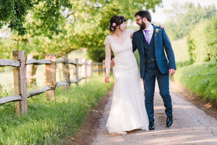 A Colourful Wedding At Gate Street Barn In Surrey