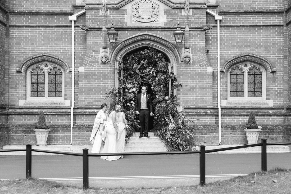 wedding ceremony at epsom college