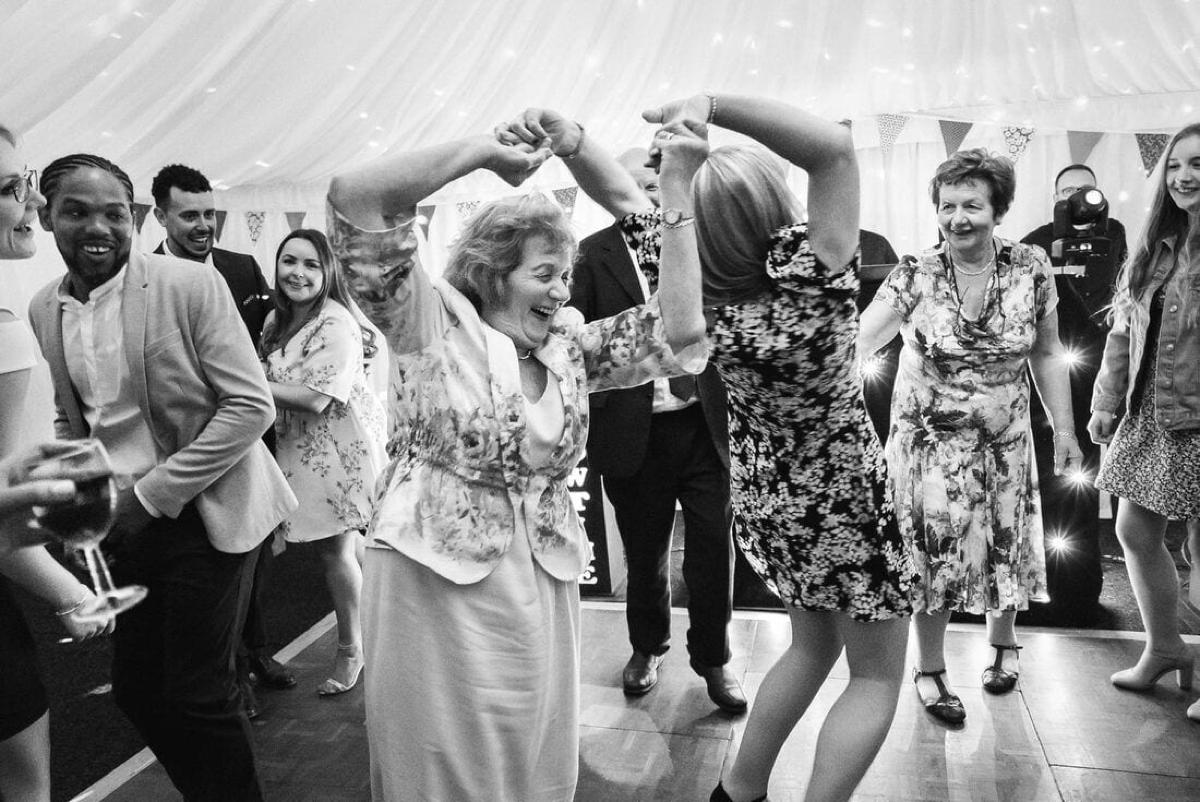 Granny On The Dance Floor
