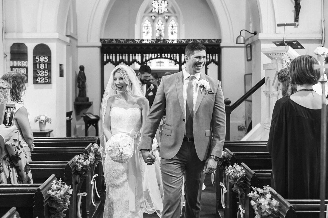 st marthas church wedding photography guildford
