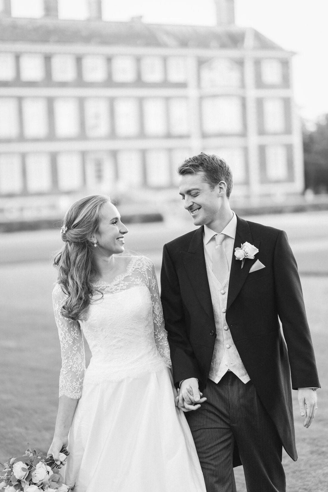 wedding photography at ham house