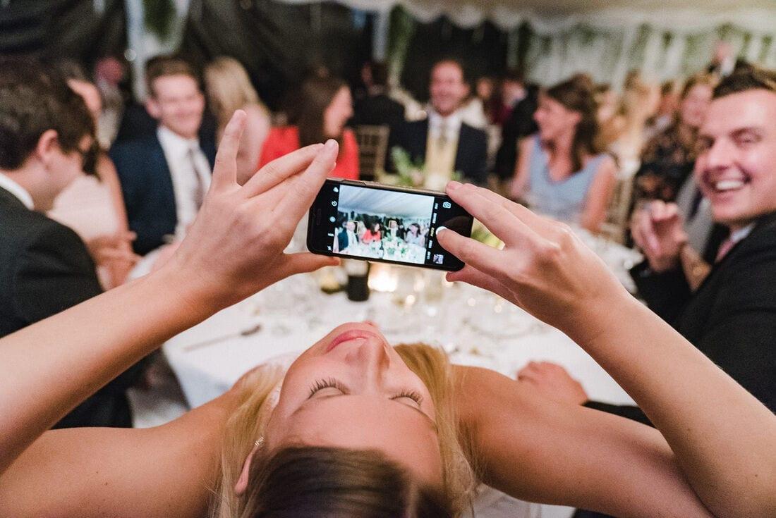 iphone wedding photography at ham house richmond