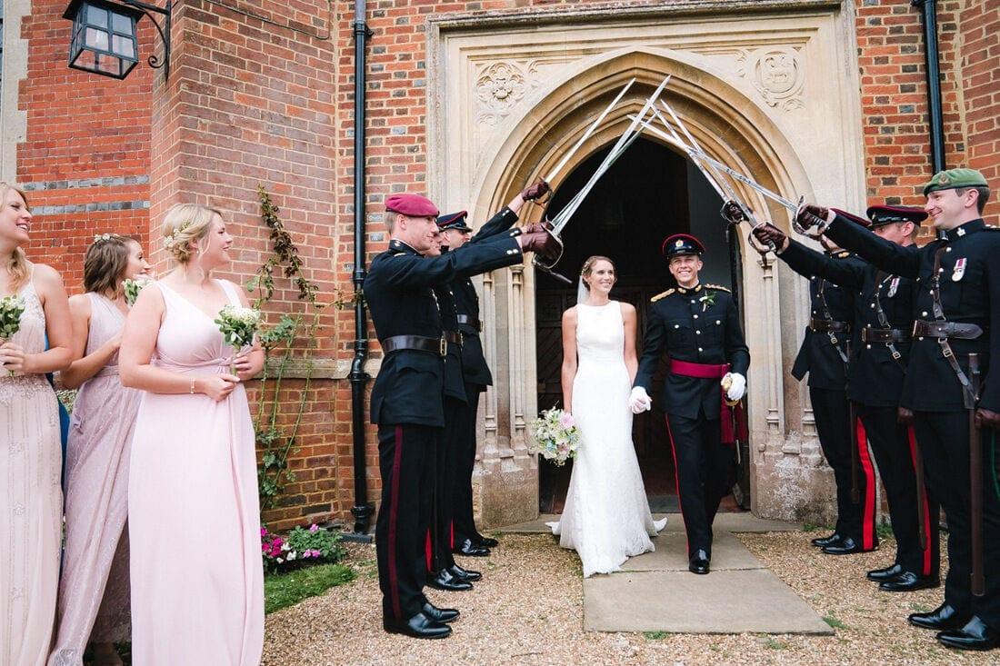 wedding guard of honour