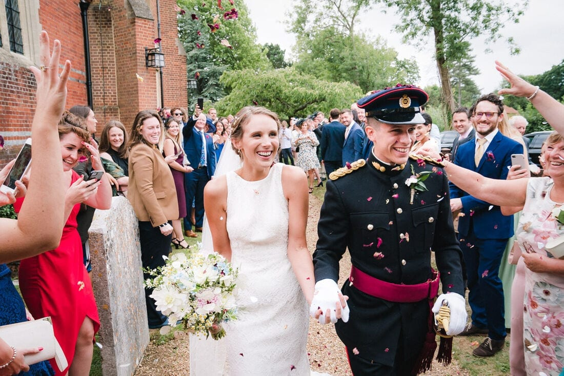 Military Wedding Photography Berkshire