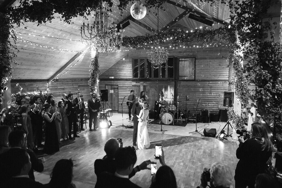 the first dance at high billinghurst farm