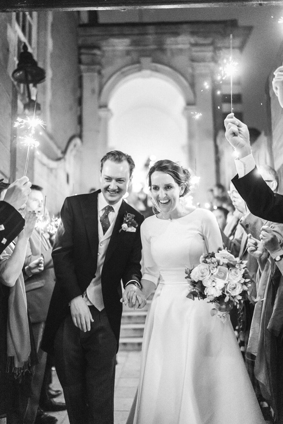 westminster wedding photography with sparklers