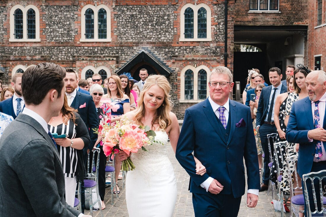 unique and quirky wedding venues hampshire