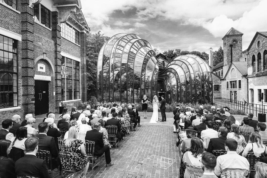 the bombay sapphire distillery wedding venue hampshire