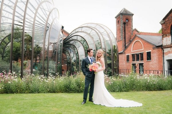 bombay sapphire gin distillery wedding photography