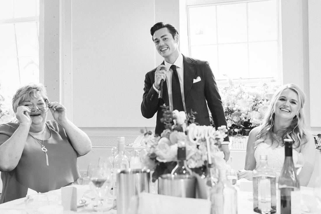 fun and laughter at this bombay sapphire wedding in hampshire