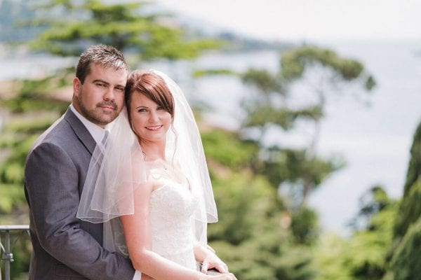 lake garda wedding portrait