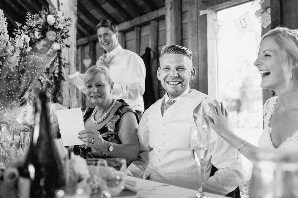 the best man embarrasses the groom