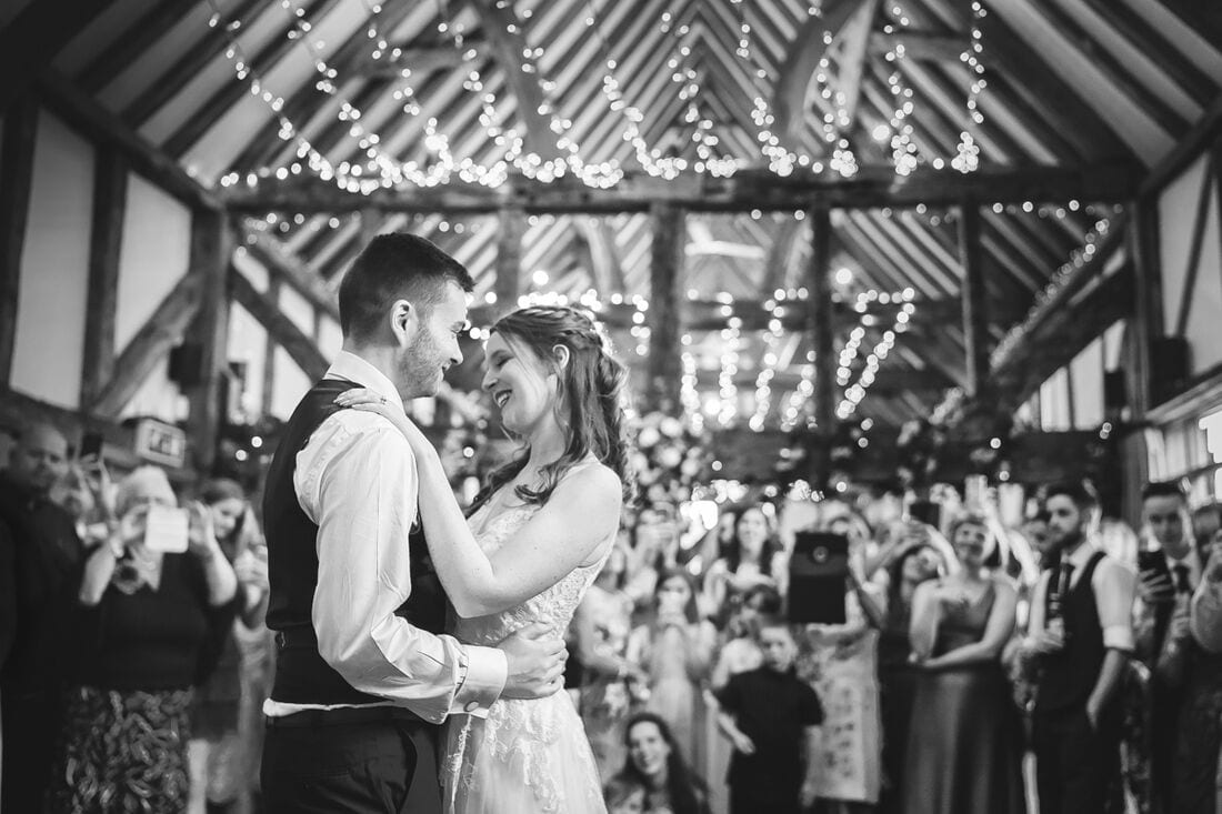 first dance at loseley park guildford