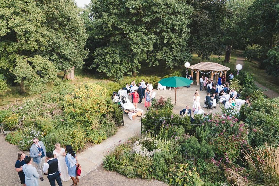 outdoor quirky wedding venues in London