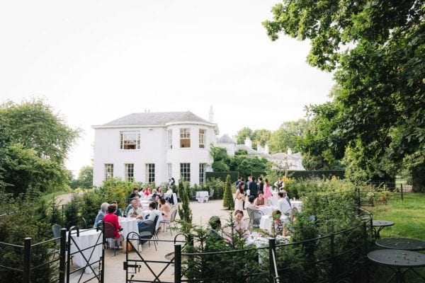 pembroke lodge outdoor wedding venue
