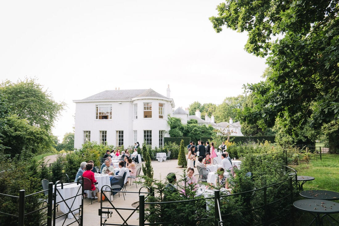 pembroke lodge outdoor wedding venue