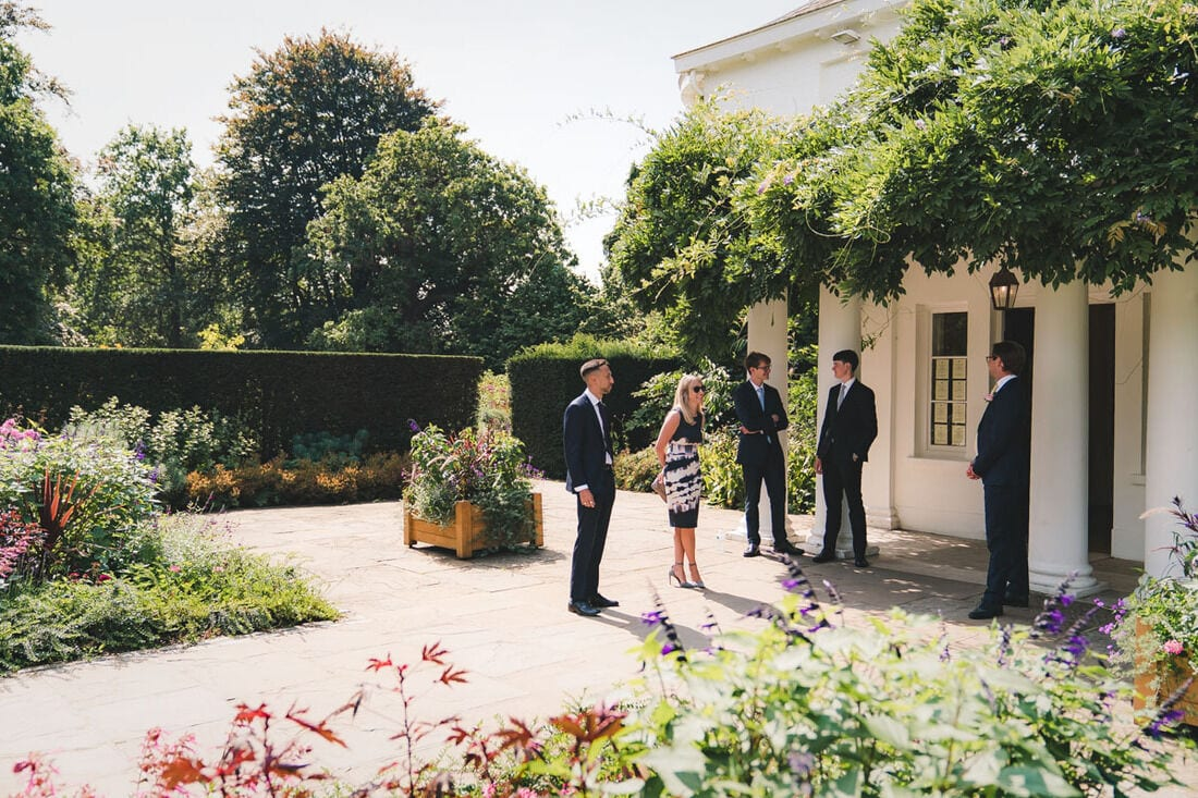 richmond park wedding pembroke lodge